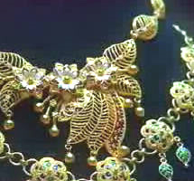 Hand-made ancient gold