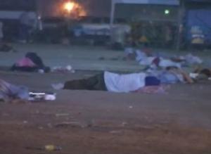 Homeless at Sanam Luang