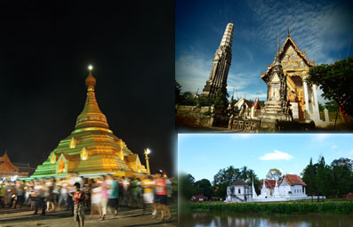 Thai Route to 3 World Heritage Sites
