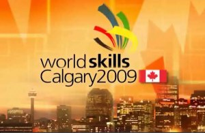 the 40th Worldskills Calgary 2009 in Canada