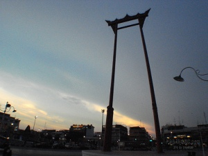 Giant Swing The recognize landmark of Bangkok