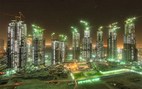 The Business Bay Executive Towers in Dubai Metropolis